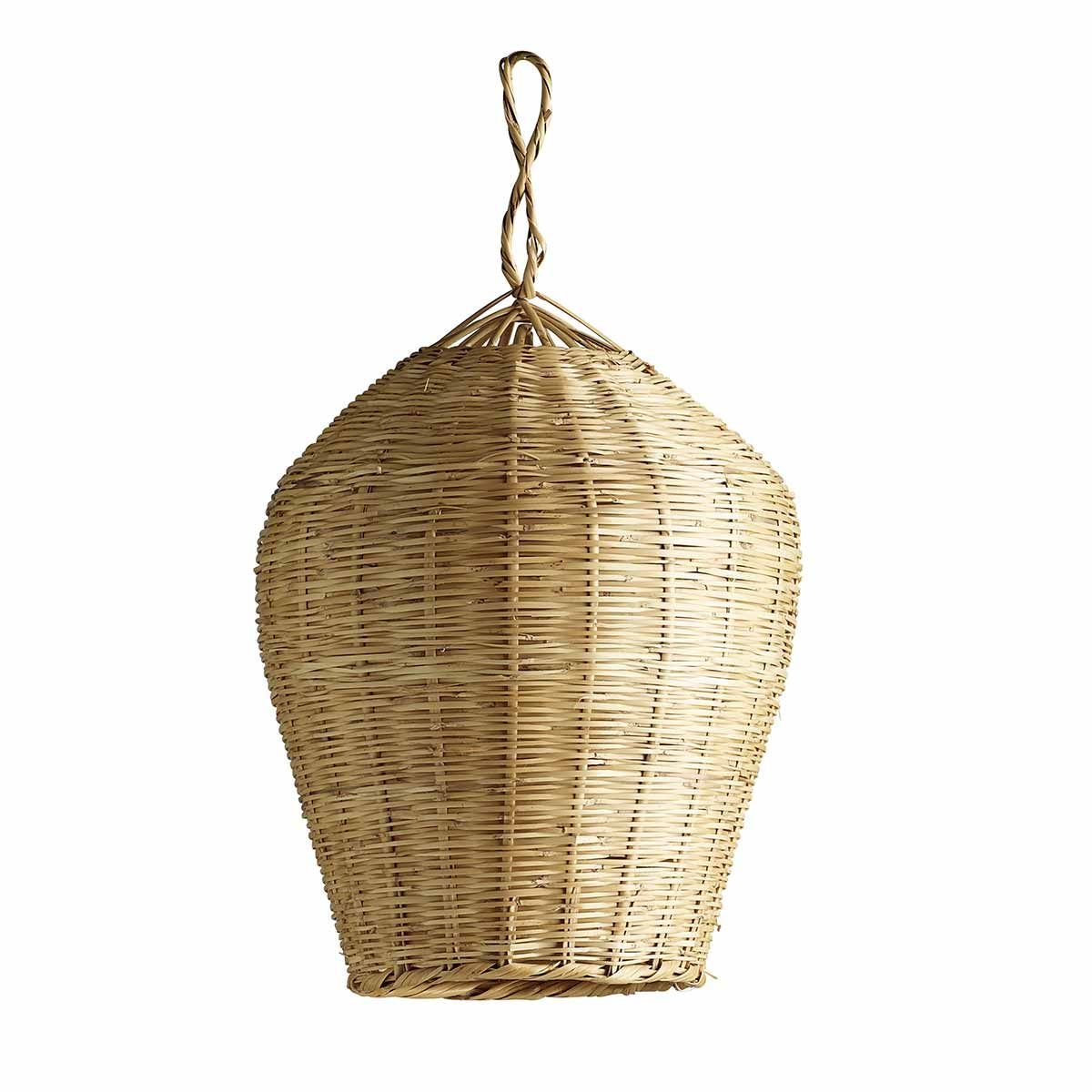 Suspension en feuille de palmier naturel Tine K Home
