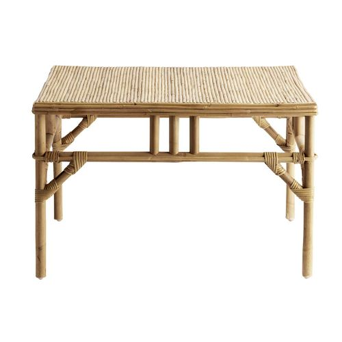 Tine K Home - Table basse carrée en rotin naturel Tine K Home - GM