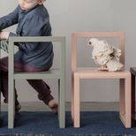 Chaise enfant en frêne Little Architect Ferm Living