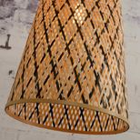 Suspension en lanière de bambou tissée main Kalimantan Good & Mojo