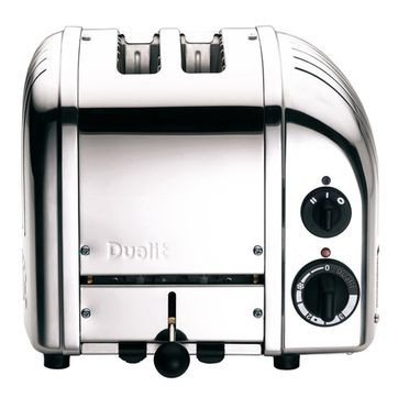Grille-pain 1200 W 2 fentes inox Classic Dualit