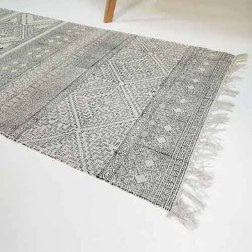 Tapis de couloir coton motif graphique Spring House Doctor