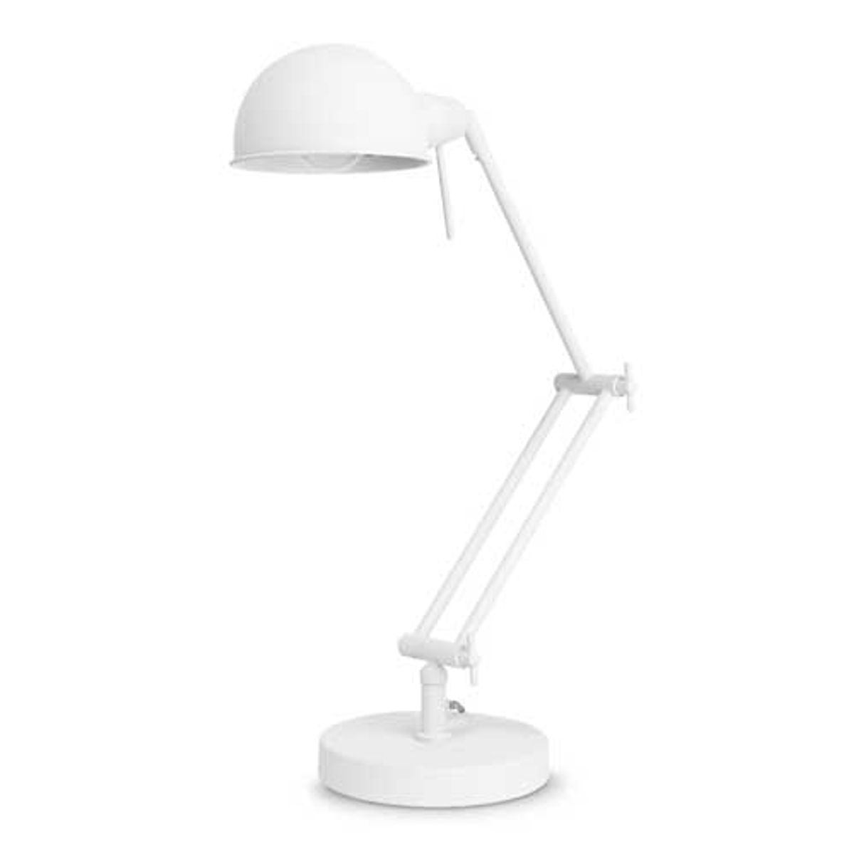 Lampe de bureau en fer Glasgow It's about Romi - blanc