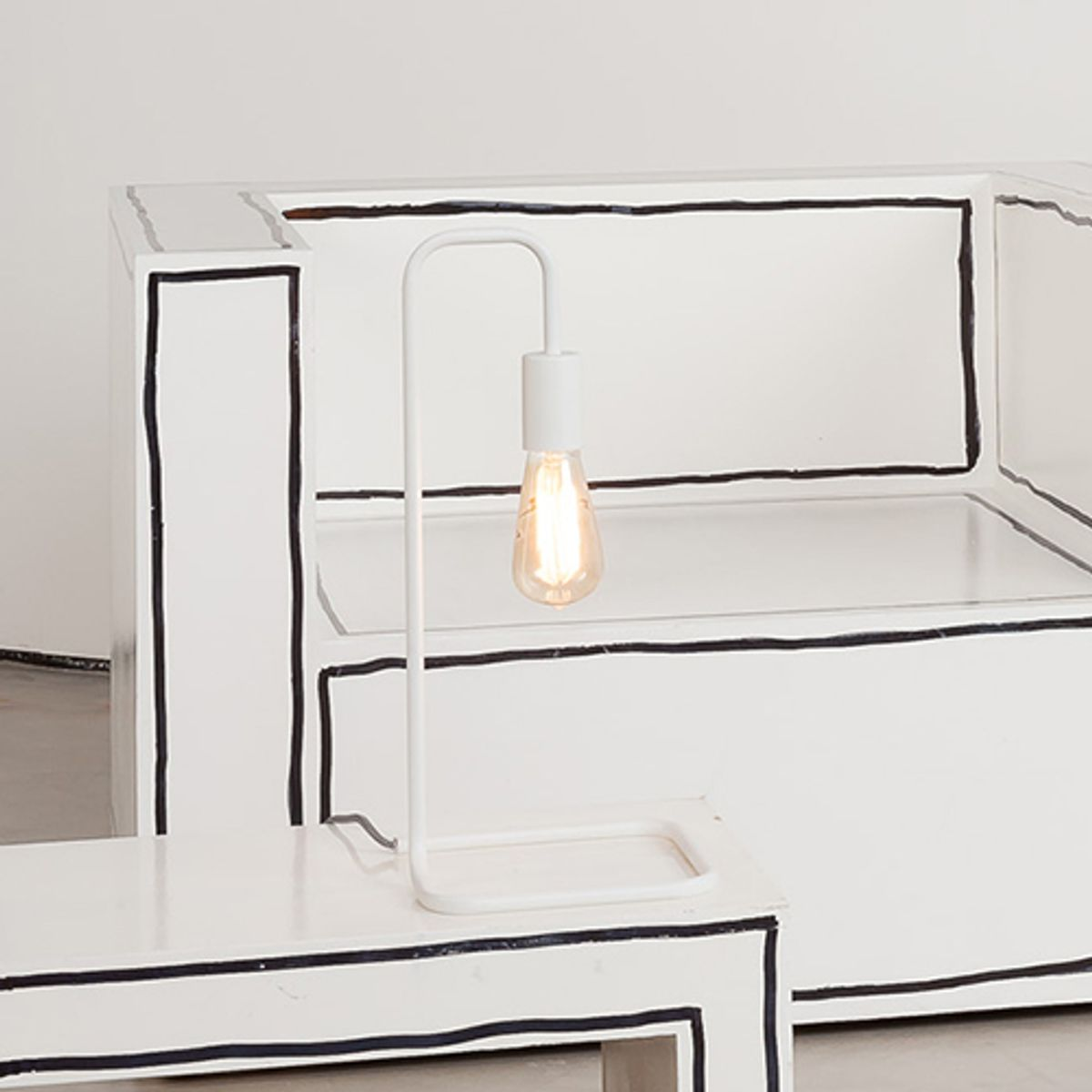 Lampe en acier London It´s about Romi - Blanc