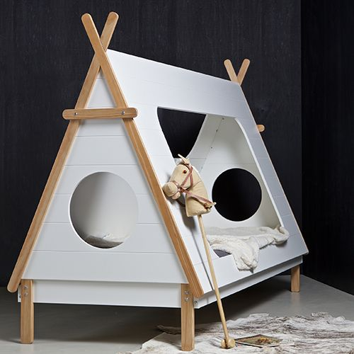 Made by Woood - Lit enfant en pin massif FSC Tipi