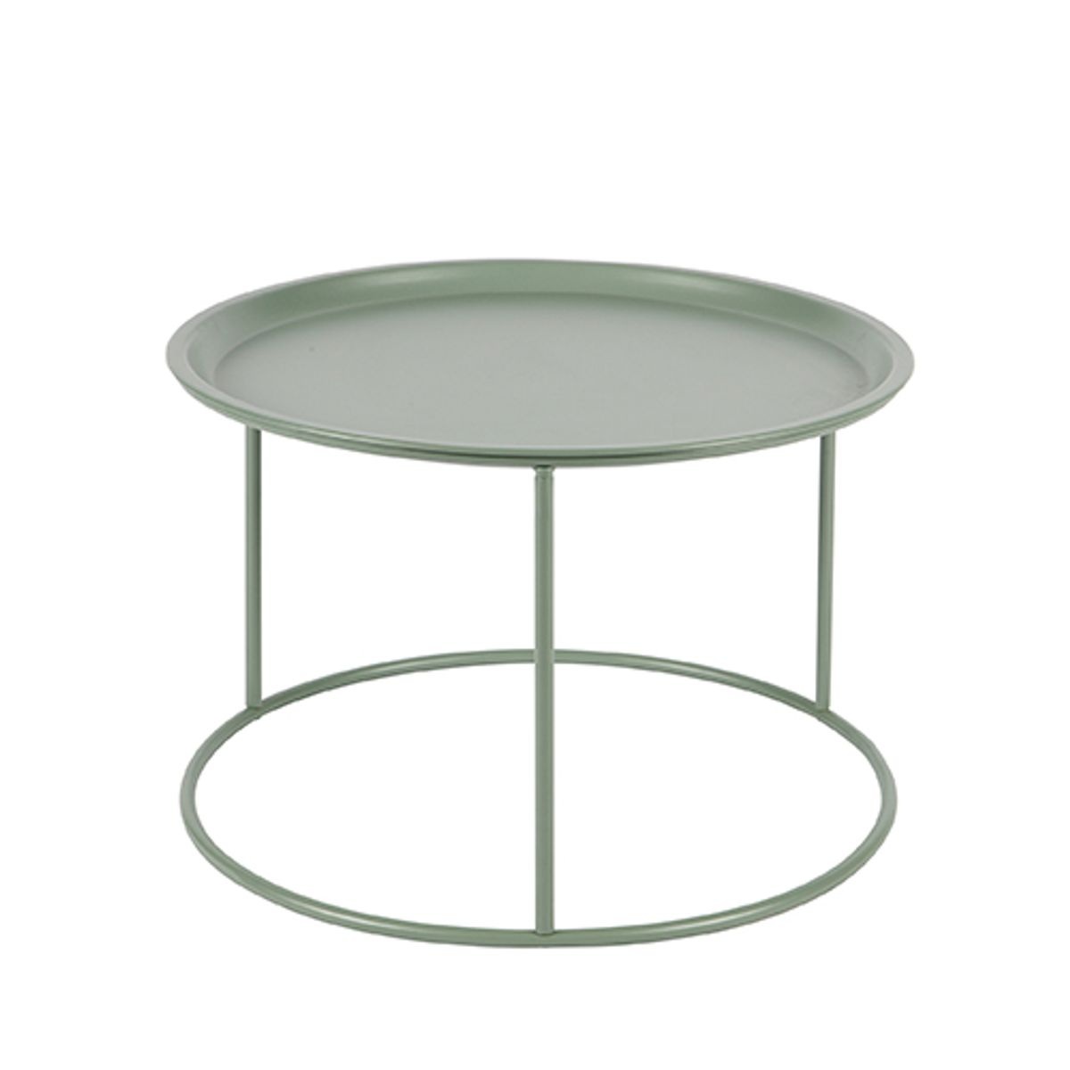table basse ronde en m tal avec plateau amovible jade ivar decoclico. Black Bedroom Furniture Sets. Home Design Ideas