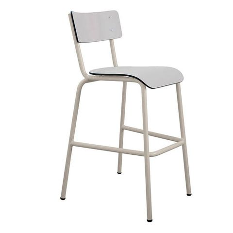 perfect tabouret de bar en formica suzie style rtro les gambettes gris with table formica neuve. Black Bedroom Furniture Sets. Home Design Ideas
